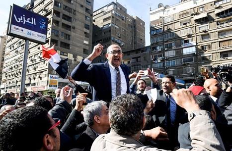 الاشتراكيون الثوريون: نعمل على محاكمة السيسي بتهمة الخيانة