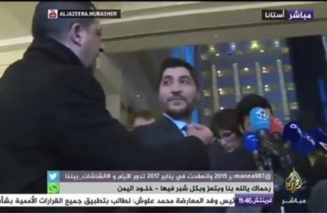 """كيف رد أبو زيد على مراسل """"العالم"""" حول """"فتح الشام""""؟ (شاهد)"""
