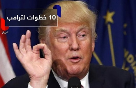 أبرز 10 خطوات نفذها ترامب خلال 48 ساعة من حكمه