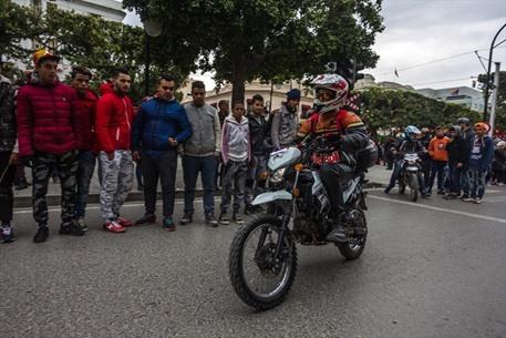 رالي تونس الدولي للدراجات النارية - 0- رالي تونس الدولي للدراجات النارية - الاناضول