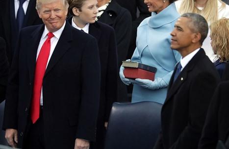 هكذا تسلم آخر 3 رؤساء أمريكيين رئاسة البيت الأبيض (فيديو)