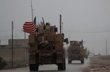 مسلحون يهاجمون قافلة للتحالف العربي في العراق (شاهد)