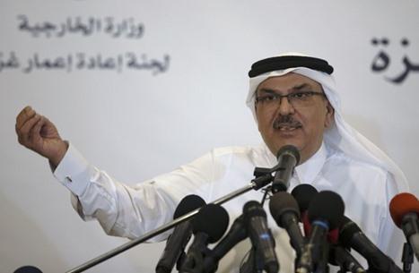 العمادي: مساعدات قطر لغزة تهدف إلى تخفيف آثار الحصار