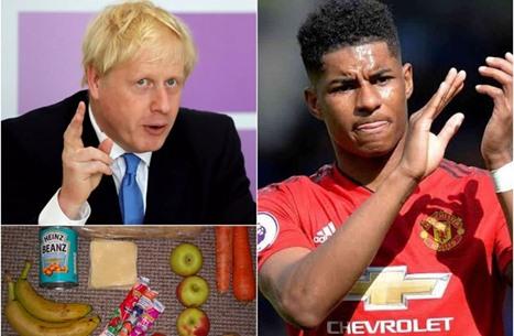 نجم المانيو يفضح حكومة بريطانيا.. وجونسون يتفاعل