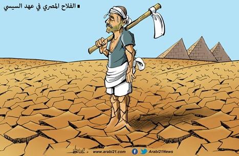 الفلاح المصري بعهد السيسي..