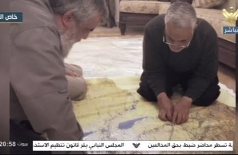 نشر مشاهد من اللقاء الأخير بين نصرالله وسليماني (فيديو)