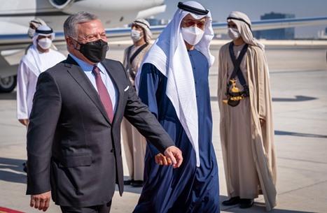 ملك الأردن يلتقي ابن زايد بأبو ظبي.. والصفدي في الرياض