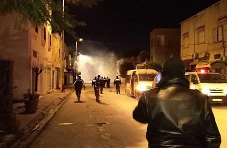 عمليات نهب وحرق بمحافظات تونسية بينها العاصمة (شاهد)