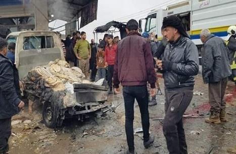 تفجير سيارة شمال سوريا يودي بحياة مدني وإصابة ستة