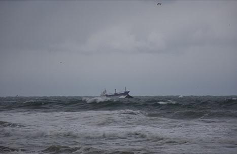 """غرق سفينة شحن روسية قبالة سواحل """"بارطن"""" التركية"""