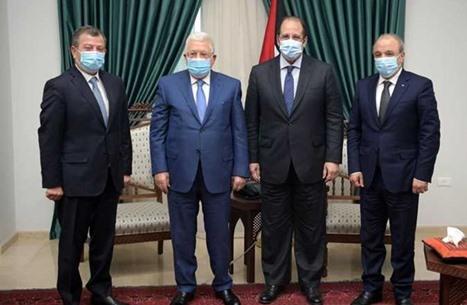 رئيسا مخابرات الأردن ومصر يجتعمان بعباس في رام الله