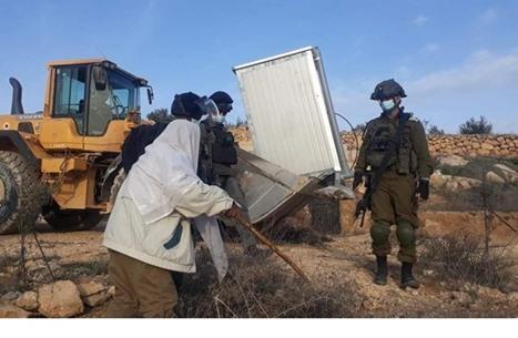 جيش الاحتلال يهدم مسجدا بالضفة.. ومواجهات ليلية بالقدس