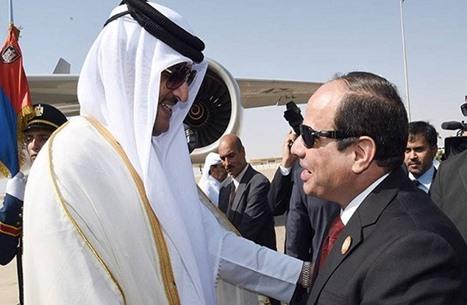 وفد قطري يصل القاهرة لترتيب عودة العلاقات إلى طبيعتها