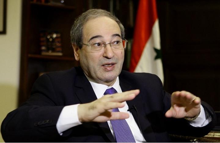 عقوبات أوروبية على وزير الخارجية السوري الجديد