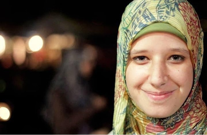 زوجة البلتاجي تنشر صورة لابنتها القتيلة في رابعة (صورة)