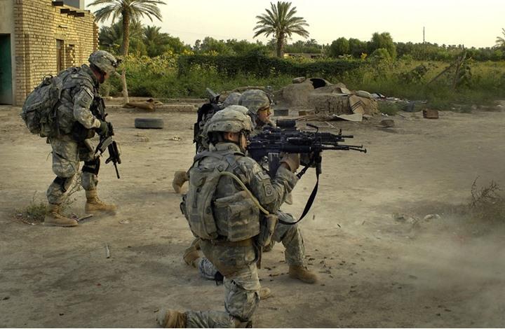 مصرع جندي أمريكي في انفجار قرب الموصل بالعراق
