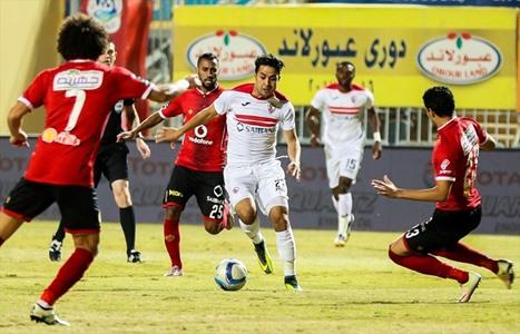 الأهلي يحسم كلاسيكو الكرة المصرية - 01- الأهلي يحسم كلاسيكو الكرة المصرية - الاناضول