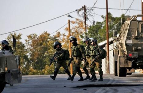 الاحتلال يشن حملة اعتقالات ويصيب فلسطينيا شمال الضفة