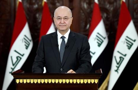 رئيس العراق يحدد موعد إجراء الانتخابات بعد حل البرلمان
