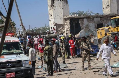 ثمانية قتلى بتفجير استهدف نقطة تفتيش بمقديشو