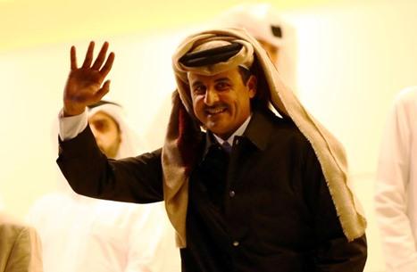 أمير قطر يهاتف الملك سلمان وولي عهده وروحاني مهنئا برمضان