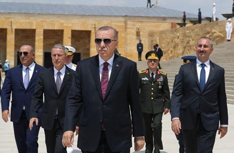 """أردوغان يؤكد احتمالية العملية العسكرية بـ""""سنجار"""" العراقية"""