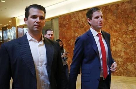 واشنطن بوست: دبي تفرش البساط الأحمر لابني ترامب