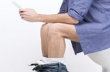 ماذا سيحصل لك إذا استخدمت الهاتف بالحمام أو على الطعام؟