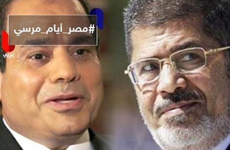 تعرف على الفرق بين مرسي والسيسي حسب المصريين