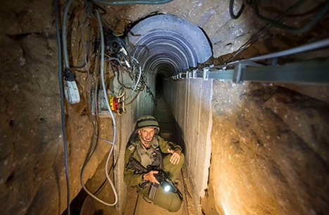 """القناة الثانية: حماس تمتلك أنفاقا تمتد إلى داخل """"إسرائيل"""""""