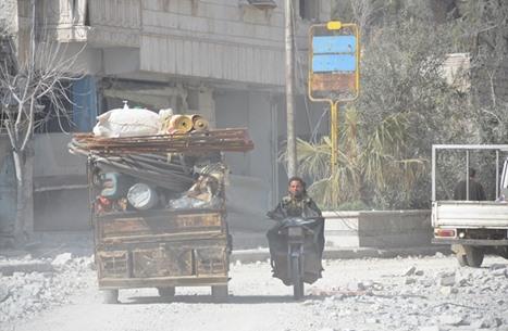 عودة مهجَّري الباب السورية بعد استعادتها من تنظيم الدولة