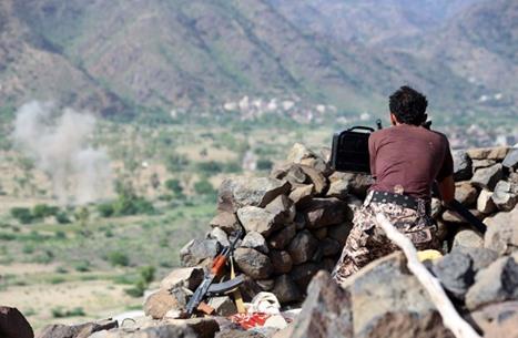 الجيش اليمني يحرز تقدما في تعز ويقطع إمدادات للحوثي