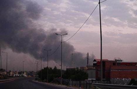 قتلى وإصابات في تفجيرين بسوق وسط بغداد (شاهد)