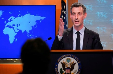واشنطن: إسرائيل تدافع عن نفسها ونواصل دعم التطبيع العربي
