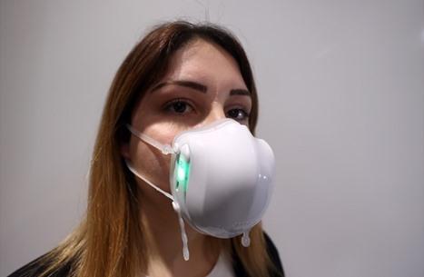 """""""كمامة إلكترونية"""" تركية تقضي على الفيروسات بالأشعة"""