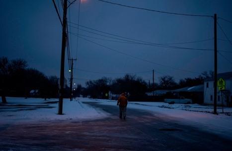 ولاية أمريكية كانت على حافة كارثة خلال عاصفة ثلجية
