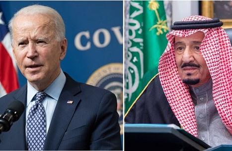 بايدن يهاتف الملك سلمان.. تناول الوضع الحقوقي وحرب اليمن