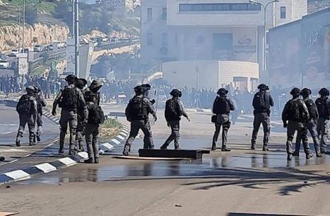 احتجاجات في حيفا رافضة لقمع الاحتلال بأم الفحم (شاهد)