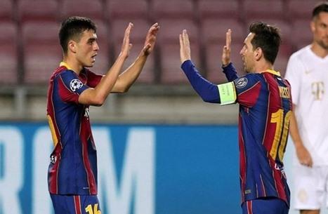 برشلونة يكشف تفاصيل إصابة نجمه الواعد بيدري