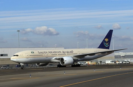 طائرة سعودية تهبط اضطراريا في الدمام ولا إصابات بين الركاب