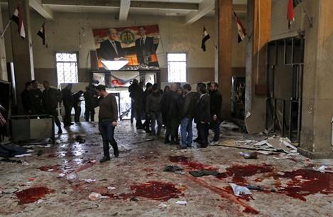 تنظيم الدولة يتبنى تفجيرات قصر العدل في دمشق