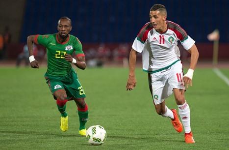المغربي لاعب ديبورتيفو يسجل هدفا عالميا مع الأسود (فيديو)