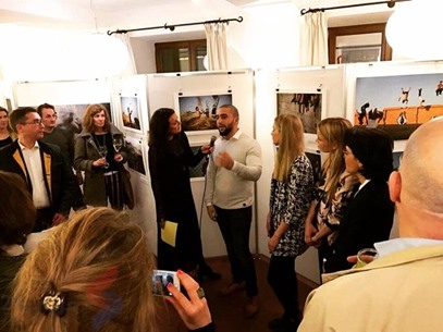 معرض صور - المصور  الفلسطيني علي نور الدين عن معاناة غزة - ميونخ ألمانيا - 5