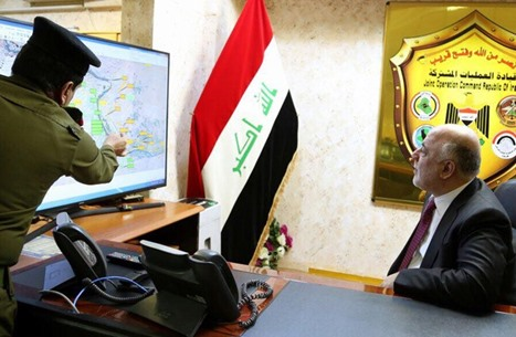 العبادي يدلي بأول تصريح عن مجزرة الموصل.. والبنتاغون يوضح