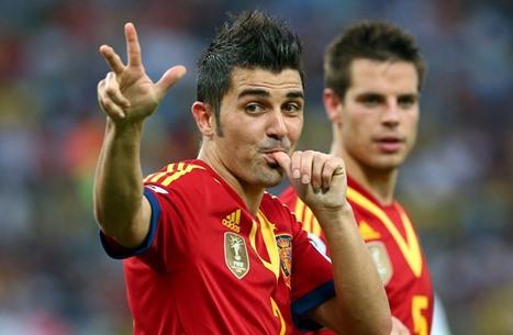 دافيد فيا يصدم ريال مدريد من أمريكا بهذا التصريح المثير