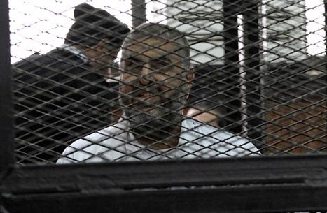 المؤبد عسكريا للشاطر وحكم بسجن 3 إعلاميين.. وعائشة تعلق