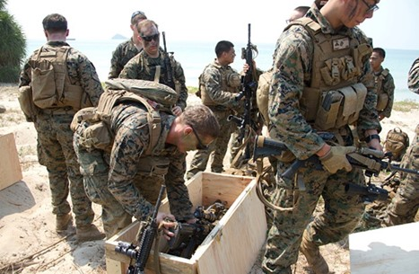 المارينز: إصابة بإطلاق نار في قاعدة عسكرية بكاليفورنيا