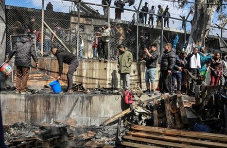 شكوى أوروبية من انتهاك اليونان حقوق طالبي اللجوء
