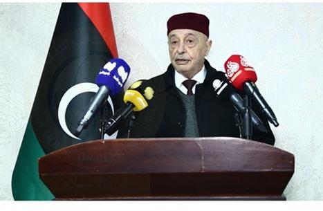 عقيلة يحذر من ظهور حكومة موازية في ليبيا إذا تأجلت الانتخابات