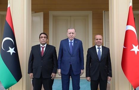 أردوغان والمنفي يبحثان الوضع في ليبيا وتطورات تونس
